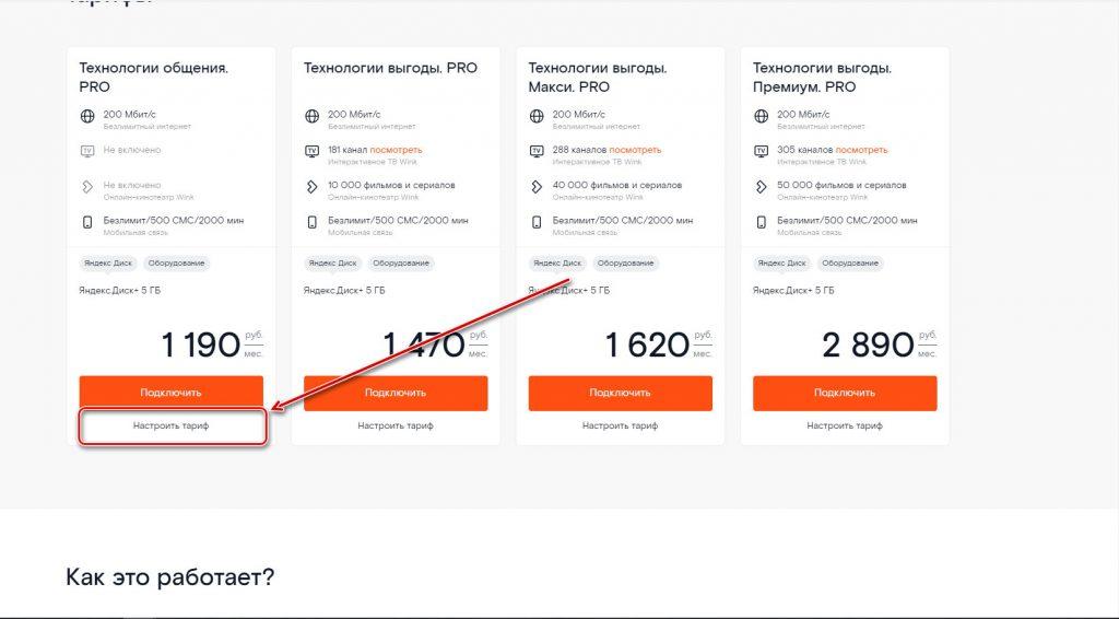 Тариф «Технологии общения PRO» от Ростелекома — стоимость, подключение, отзывы